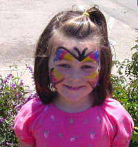 Girl with Face Paint