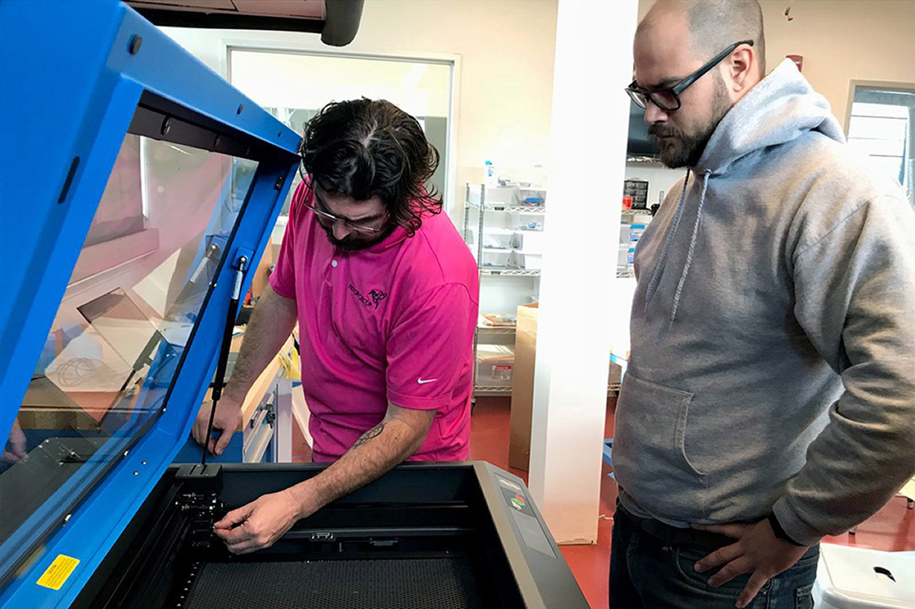 Installing the Laser Cutter