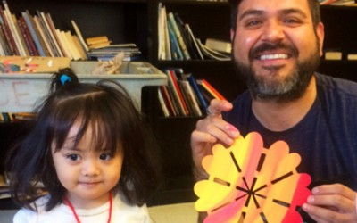 A Small Bilingual Art Class with a Significant Community Impact