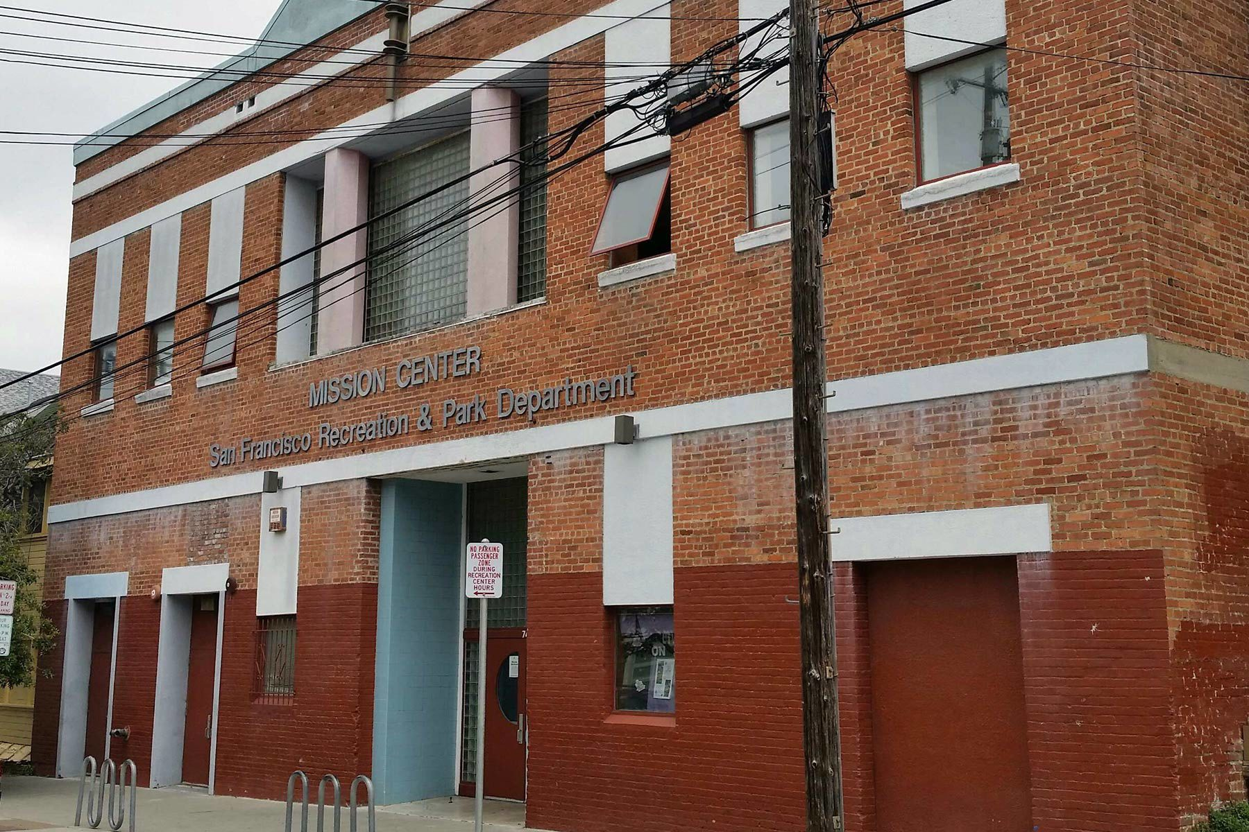 Temporary Location of Randall Museum at Mission Art Center