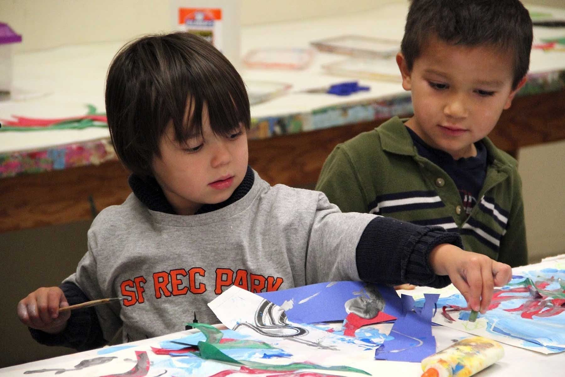 Active Art – Infants and Toddlers Drop-In Art Activities