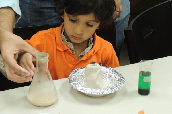 Saturday Science activities for kids and families