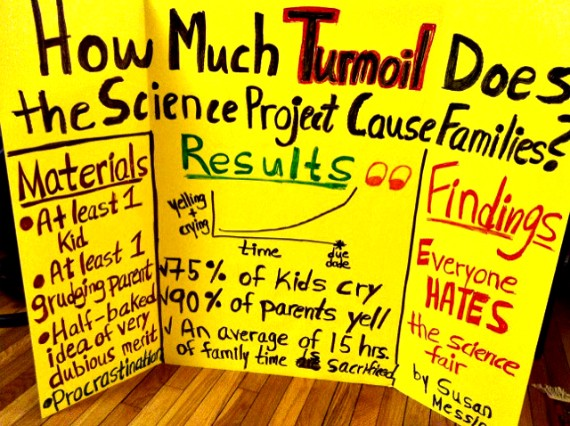 How Much Turmoil does the Science Project Cause Families?