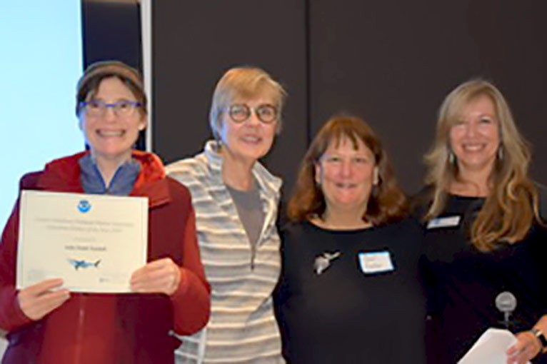 Randall Museum Staff Members Receive Education Partner of the Year Award