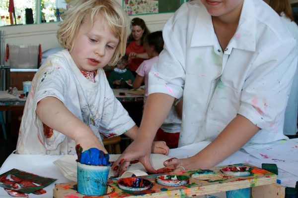 Drop-In Studio Art activities for kids and families